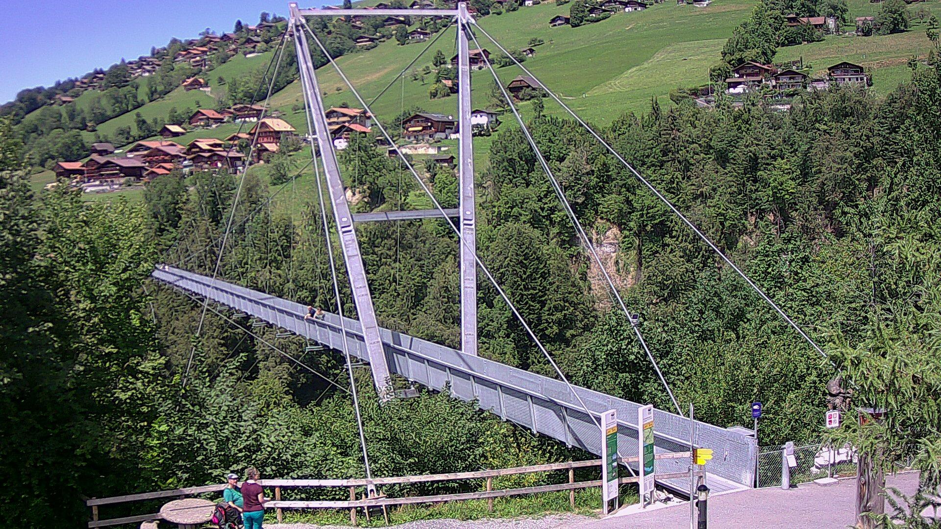 Webcam bei der Panoramabrücke in Sigriswil